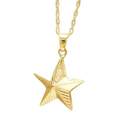 Star Keepsake Pendant IV