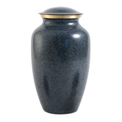 Blue Earthtone Large Pet Urn