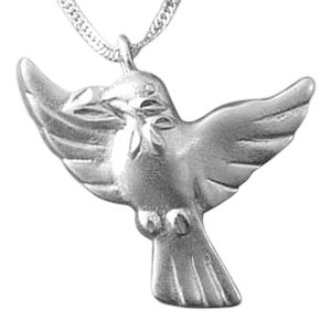Dove to Heaven Cremation Jewelry III