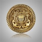 Coast Guard Coin Medallion Appliques