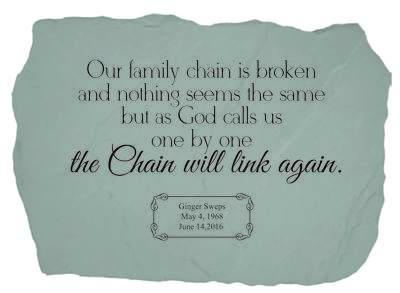 Our Family Chain Is Broken Stone