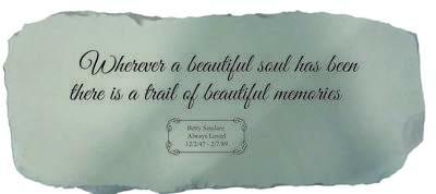 Wherever A Beautiful Soul Bench