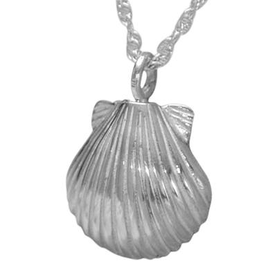 Seashell Nature Keepsake Pendant