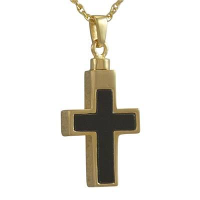 Onyx Insert Cross Cremation Keepsakes II