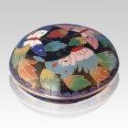 Butterflies Cloisonne Jewel Dish
