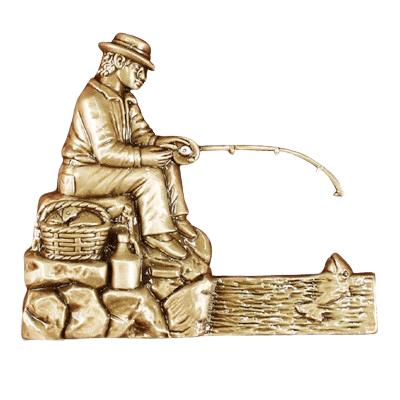 Fisherman Medallion Appliques