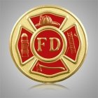 Fire Department Medallion Appliques