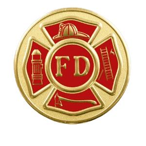 Fire Department Medallion Appliques