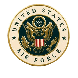 US Air Force Medallion Appliques