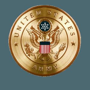 US Army Medallion Appliques