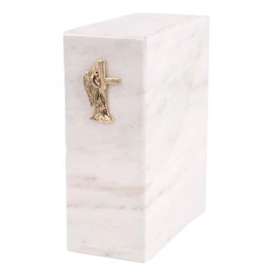 Eternitas White Danby Marble Urn