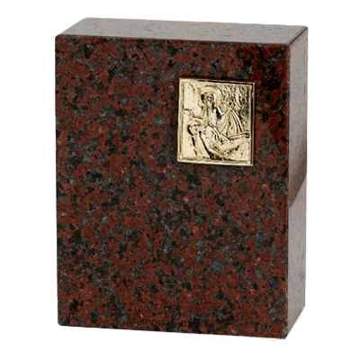 Eternitas African Red Granite Cremation Urns