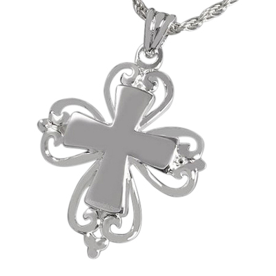 Abbey Cross Cremation Pendant III