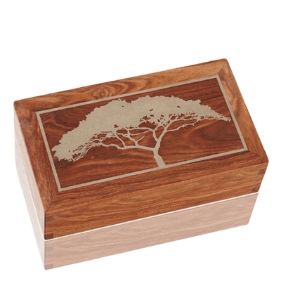 Acacia Wood Cremation Urns