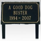 Affinity Pet Memorial Plaque