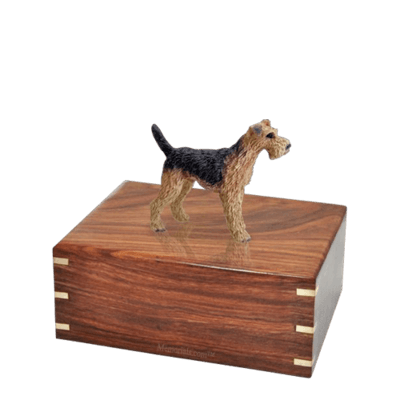 Airedale Small Doggy Urn