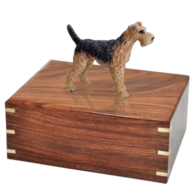 Airedale X-Large Doggy Urn