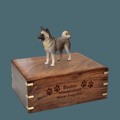 Akita Medium Doggy Urn