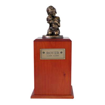 Always My Doggy Cherry Large Cremation Urn