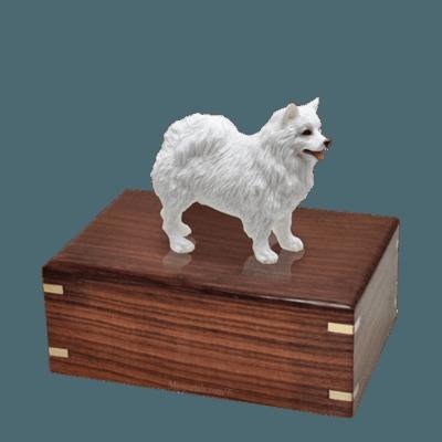 American Eskimo Medium Doggy Urn
