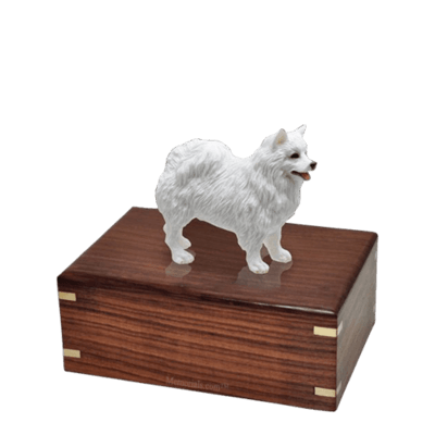 American Eskimo Small Doggy Urn