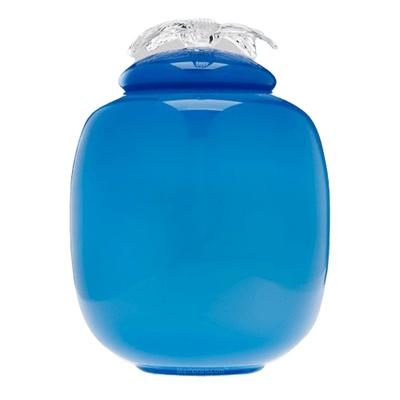 Amity Glass Cremation Urn