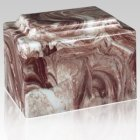 Amity Rustic Marble Cremation Urn