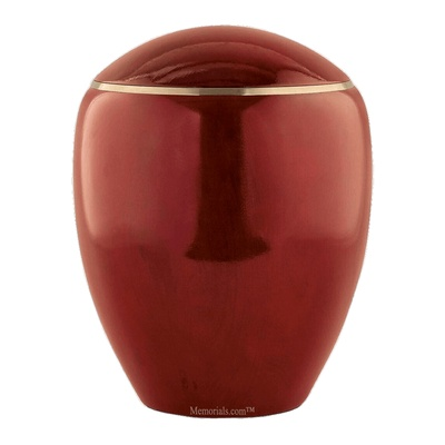 Ammil Mahogany Wood Cremation Urn