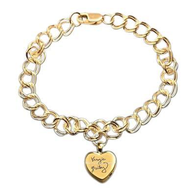 Amour Cremation Charm Bracelet II