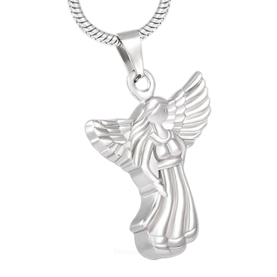 Angel Cremation Necklace