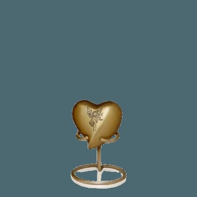 Angel Keepsake Heart Urn