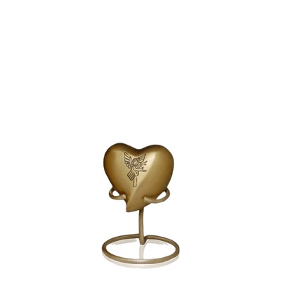 Angel Keepsake Heart Urn