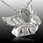 Angel Rabbit Cremation Pendant