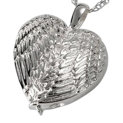 Angelic Heart Cremation Pendant III