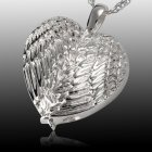 Angelic Heart Cremation Pendant