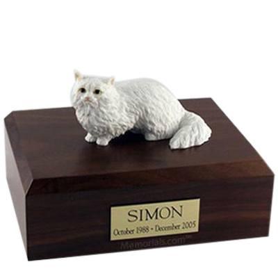 Angora X Large Cat Cremation Urn