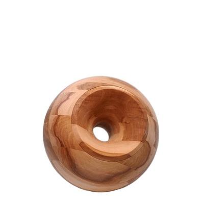 Apple Orb Small Wood Urn