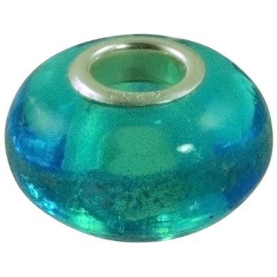Aqua Elegance Cremation Ash Bead