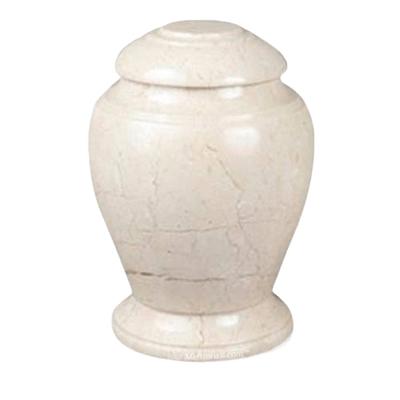 Aristo Creme Marble Urn
