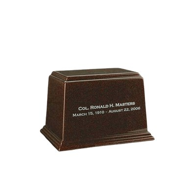 Ark Chocolate Keepsake Marble Urn