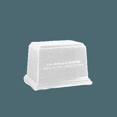 Ark Frost Keepsake Marble Urn