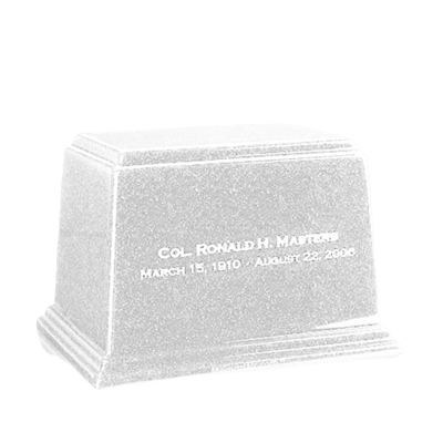 Ark Frost Medium Marble Urn