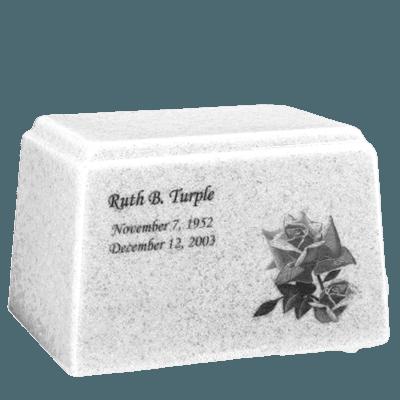 Ark Niche Frost Marble Urn