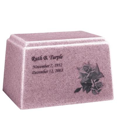 Ark Niche Lavender Marble Urn