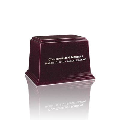 Ark Burgundy Keepsake Marble Urn