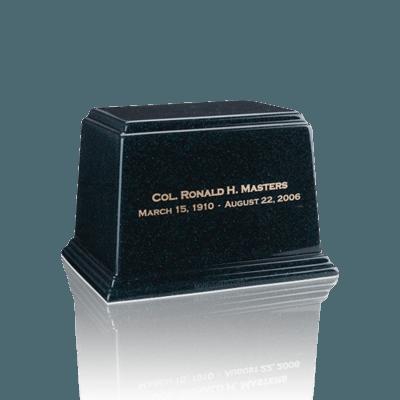 Ark Emerald Small Marble Urn
