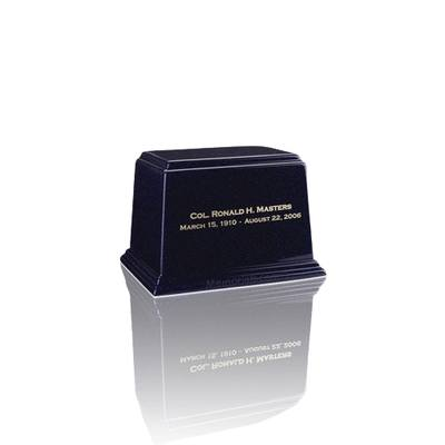 Ark Sapphire Blue Mini Marble Urn