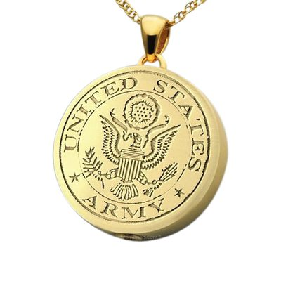 Army Cremation Pendant IV