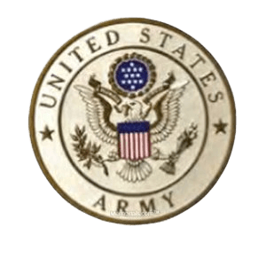 Army Insignia Medallion Appliques