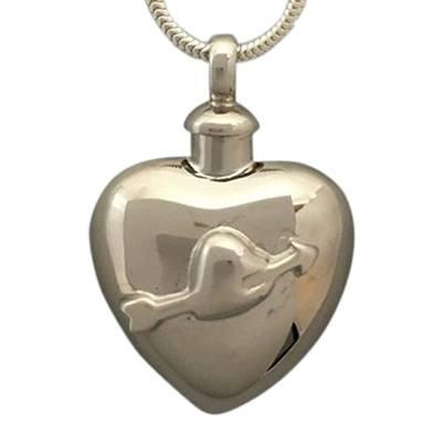 Arrow Heart Cremation Jewelry